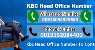 kbc contact us whatsapp and headoffice number