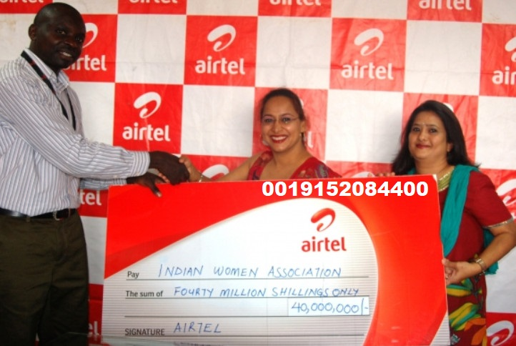 kbc airtel lottery winner 25 lakh cheque price amount